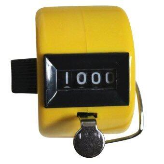 จับติ้วนับเลขเชิงกล Clicker สีเหลือง