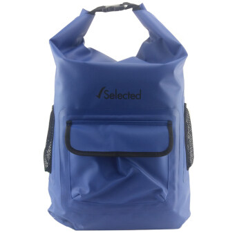 Selected กระเป๋าเป้กันน้ำ กระเป๋ากันน้ำ ถุงทะเล Waterproof Bag 45 L - สีน้ำเงิน