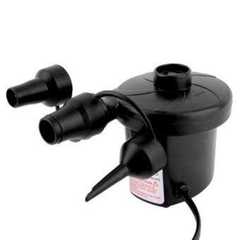 Good Deal เครื่องสูบลม ที่สูบลมไฟฟ้าแบบพกพา 3 หัว electric pump 3 in 1 (สีดำ)