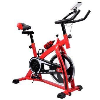 จักรยานปั่นออกกำลังกาย Exercise Spin bikes CY-S300 สีแดง