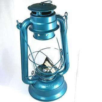 Storm lantern ตะเกียงเจ้าพายุ (สีฟ้า)ใหญ่