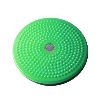 จานทวิส จานหมุนเอว ใหญ่ ( สีเขียว ) Twist Disc / Twist Plate / Twister
