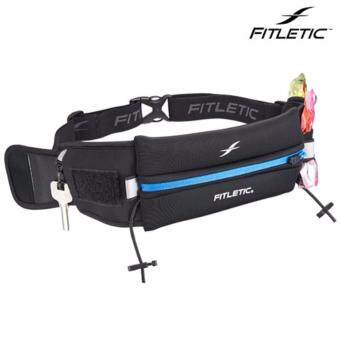 Fitletic กระเป๋าคาดเอว ใส่โทรศัพท์เวลาวิ่ง - Ultimate II Running Belt (Blue)