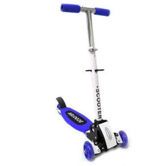 Scooter สกู๊ตเตอร์ 4 ล้อ โฉมใหม่ (สีน้ำเงิน)
