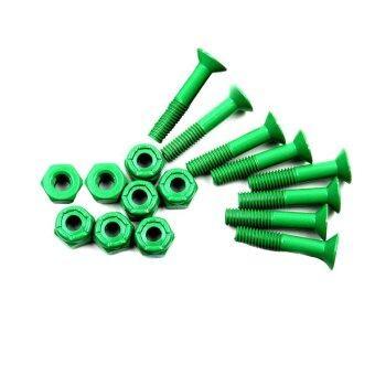 น็อตยึดทรัค ชุด 16 ชิ้น (สีเขียว)