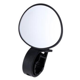 แม่งรถจักรยาน 360องศาหมุนกระจกมองหลัง (สีดำ)