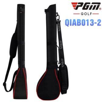 PGM กระเป๋าใส่ไม้กอล์ฟ สีดำแถบแดง QIAB013 BLACK-RED COLOUR