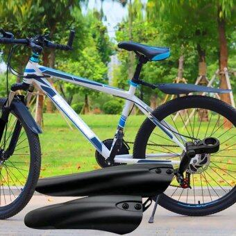 Harga Cocotina Black Heavy Duty Synthetic Plastic Fender Mountain Bike Fender Mudguards Set Mountain Road Bicycle
