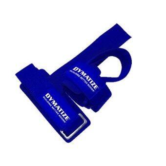 Dymatize สแตรปส์รัดข้อมือยกน้ำหนัก Basic Padded lifting strap ( 2pcs )