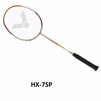 ไม้แบดมินตัน ไม้แร็คเก็ต ไม้แบด วิคเตอร์ Victor HX-7SP ไม้ก้านแข็งปานกลาง หน้าไม้ไว น้ำหนักเบา ตีสนุก รุ่นยอดนิยม คุณภาพเยี่ยม