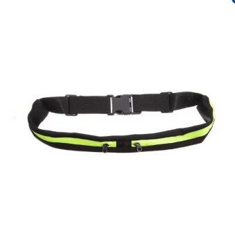 Sports Fanny Pack Belly Waist Bumbag Fitness Running Jogging Cycling Belt Pouch(Green)