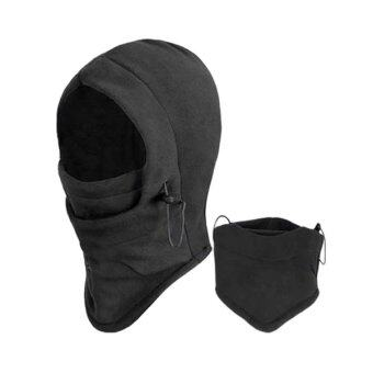 Harga Phoenix B2C 6 in 1 Thermal Fleece Balaclava Hood Police Swat Ski Bike Wind Stopper Face Mask (Intl)