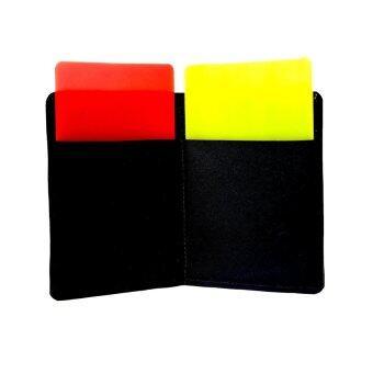 SPORTLAND ใบเหลือง ใบแดง ฟุตบอล Yellow & Red Football Cards