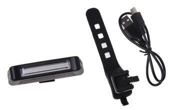 ไฟท้ายจักรยาน COMET 4สี (แดง/น้ำเงิน/ม่วง/ชมพู) USB