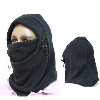Harga Multi-function Thermal Fleece Balaclava Hood Police Swat Wind Stopper Mask