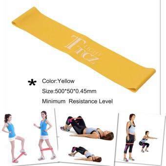 Hayashi - ยางยืด ออกกำลังกาย บริหารร่างกาย TTCZ Exercise Band Loop (สีเหลือง)