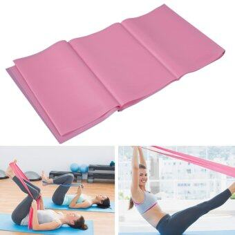 Harga 1.2m Elastic Thick Yoga Stretch Band Exercise Fitness Band Pink