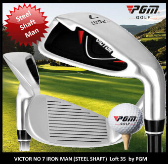 Harga Iron Club No. 7 Victor Steel Shaft (MAN) by PGM