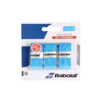 BABOLAT กริ๊ปพันด้ามไม้เทนนิส PRO TEAM SP X 3 BLUE ชิ้น (สีน้ำเงิน)