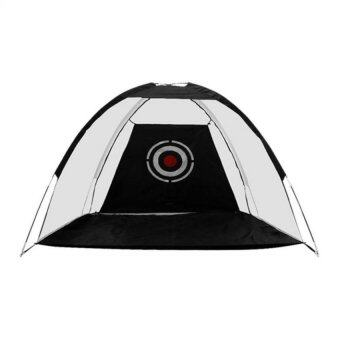 Kinglion Sport ตาข่ายซ้อมไดร์ฟกอล์ฟ 2 เมตร ตาข่ายซ้อมไดร์ฟสีดำ ตาข่ายกอล์ฟ อุปกรณ์ฝึกกอล์ฟด้วยตัวเอง อุปกรณ์กอล์ฟ Golf Net Practice Driving Net Golf Hitting Net with Target for Indoor / Outdoor