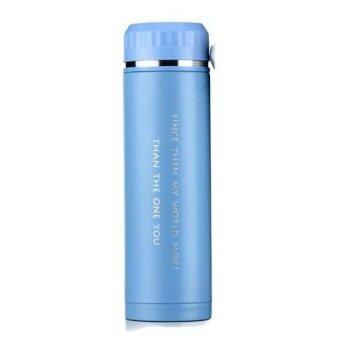ST Product Travel Mug กระบอกน้ำ เก็บความร้อนและเย็น 500 ml ( สีฟ้า )