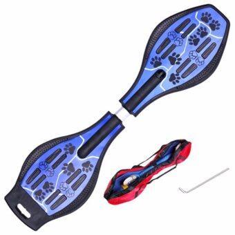 Snakeboard สเน็คบอร์ด สเก็ตบอร์ดไฟฟ้า ที่รองเท้าสเก็ตบอร์ด - Blue