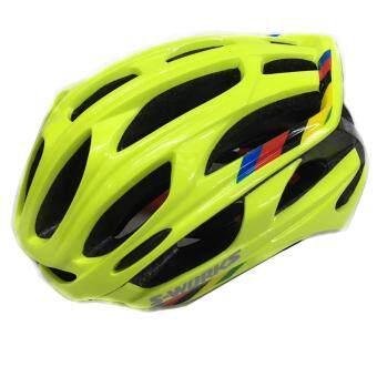 Lee Bicycle หมวกกันน็อกจักรยาน4D มีไฟ LED รุ่น S-WORKE