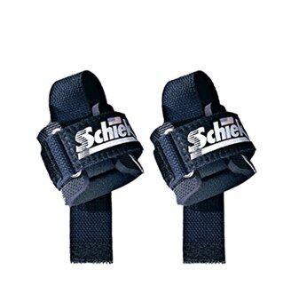 SCHIEK สแตรปส์รัดข้อมือยกน้ำหนัก Power Lifting strap ( 2pcs )