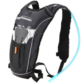 โอ้ 4ลิตรการขี่จักรยานกระเป๋าเป้รถจักรยาน+กระเป๋าสะพายกระเป๋าเดินป่าชุ่มชื้นน้ำสีดำ