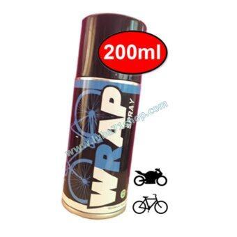 LUBE71 Bicycle WRAP SPRAY สเปรย์จารบีหล่อลื่นโซ่จักรยาน สีใส ขนาด 200 มล.