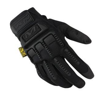 Harga Mechanix Men Gloves Wear M-Pact Military Tactical Army Motocycle Bicycle Shooting Gloves Black