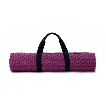 Harga Lovely colorful YOGA exercise canvas mat bag A2620E - intl