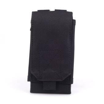 จากไนลอนสีดำฝาโทรศัพท์มือถือนอกยุทธวิธีทหารปืนเคสกระเป๋า