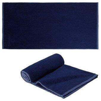 ผ้าขนหนู DRAPITI ผ้าเช็ดตัวสำหรับกีฬาทางน้ำ (สีกรมท่า)
