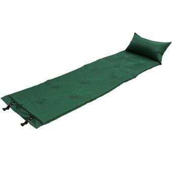 STL ที่นอนแค้มปิ้งสูญญากาศแบบสูบลมอัตโนมัติ 186x60 ซม.(สีเขียว)