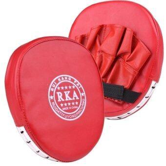 เพลงหมัดมวยซ้อมนวมเบาะนวมเน้นเป้าหมาย MMA คาราเต้มวยเตะชุด (สีแดง)