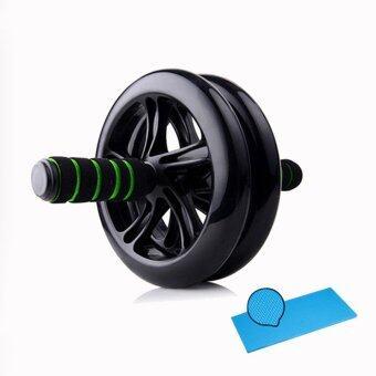 ลูกกลิ้ง AB-WHEEL ขนาด 20 cm. ( Black )