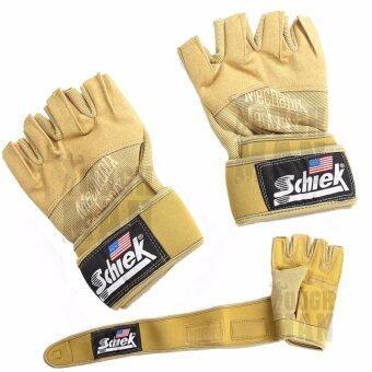 Schiek ถุงมือยกน้ำหนัก ถุงมือฟิตเนส รุ่น Navy Seal