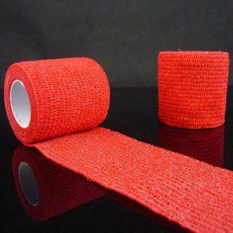 PAlight 1PCS Self Adhesive Ankle Finger Muscles Care Elastic Medical Bandage Gauze Tape Sports Wrist Support (2.5CM) - intl