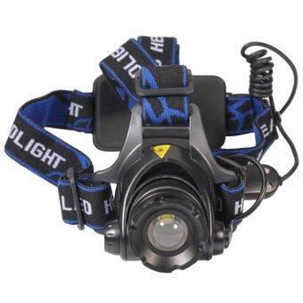 โคมไฟ สำหรับ เดินป่า ตั้งแคมป์ PB LED Headlamp 90 Degree w/18650 PowerBox