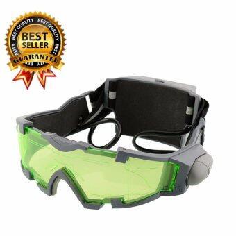 Elit LED Night Vision แว่นนักปั่นจักรยาน สำหรับมองเห็นในที่มืด