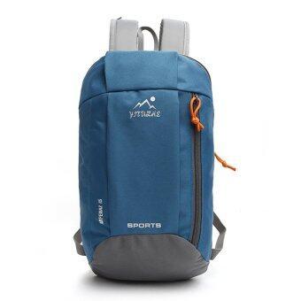 2559 คุณภาพดีที่สุด 7 สี 10ลิตรกันน้ำกระเป๋าเป้กระเป๋าเป้เดินป่าเบาเป็นพิเศษไนลอนกลางแจ้ง (ฟ้าอ่อน)