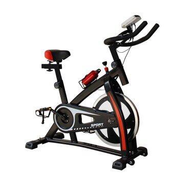 Spin Bike จักรยานออกกำลังกาย จักรยานบริหาร รุ่น QMK-1028 (สีดำ)