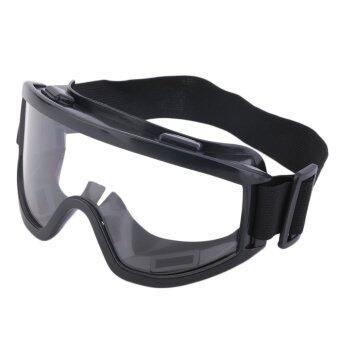 โอ้ลมแว่นตาแว่นตาป้องกันฝุ่นกลางแจ้งรถจักรยานยนต์ออฟโรดจักรยานกลอกตาสีดำ