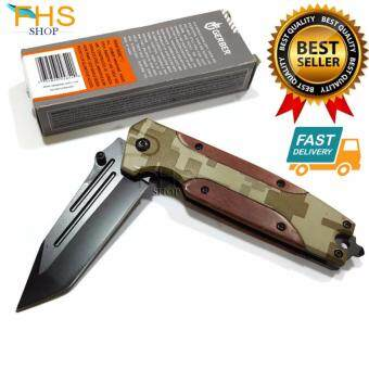 FHS SUPER KNIFE B056B มีดพับเอนกประสงค์ ขนาดใบรวมด้ามยาว 21 cm.
