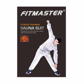 Fitmaster ชุดซาวน่า ชุด Sauna Suit รุ่น SS9010 (สีเงิน)