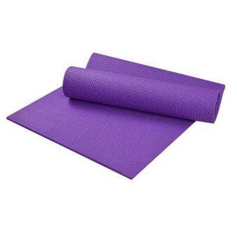 Replica Shop เสื่อโยคะ หนา 6 มม.Yoga Mat (สีม่วง)