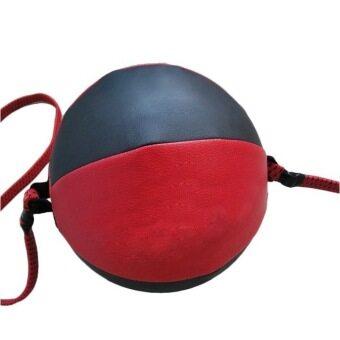 ปลายคู่ MMA ซ้อมมวยชกบอลความเร็วเกียร์กระเป๋า (สีแดง และสีดำ)