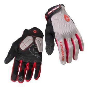 Eighty Eight BP-Protect ถุงมือจักรยาน ทัชสกรีน โทรศัพท์ได้ BP02 - Grey