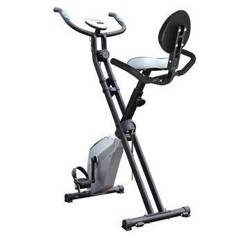 จักรยานออกกำลังกาย ระบบแม่เหล็ก Magnatic Bike รุ่น TD001X-1 (สีบรอนเงิน)ฟรี สายยางบริหารแขน